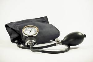 medical equipment to check blood pressure