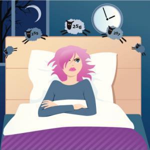 good night sleep - cartoon